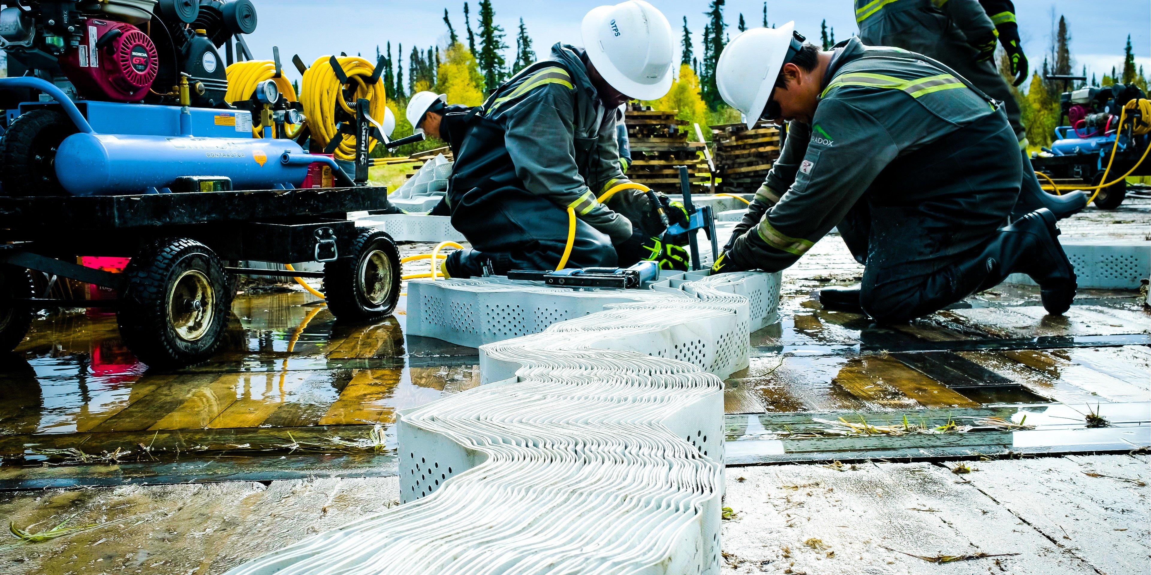 Building Canada's roads.