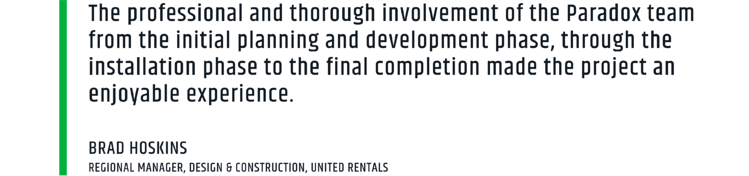 The United Rentals Paradox