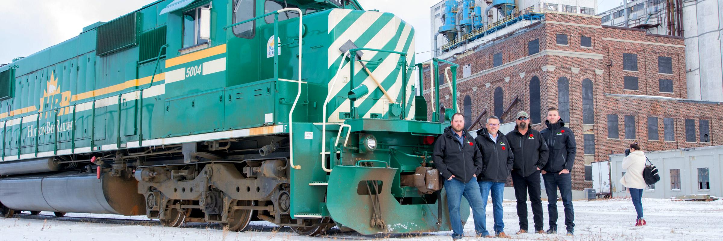 Paradox helps repair the Hudson Bay Rail Line following the 2017 floods