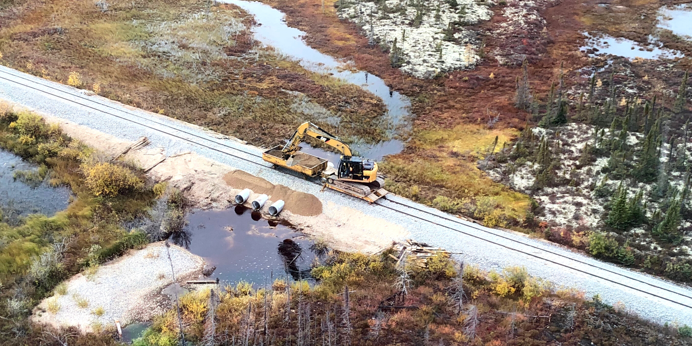 Hudson Bay Rail Line Repairs