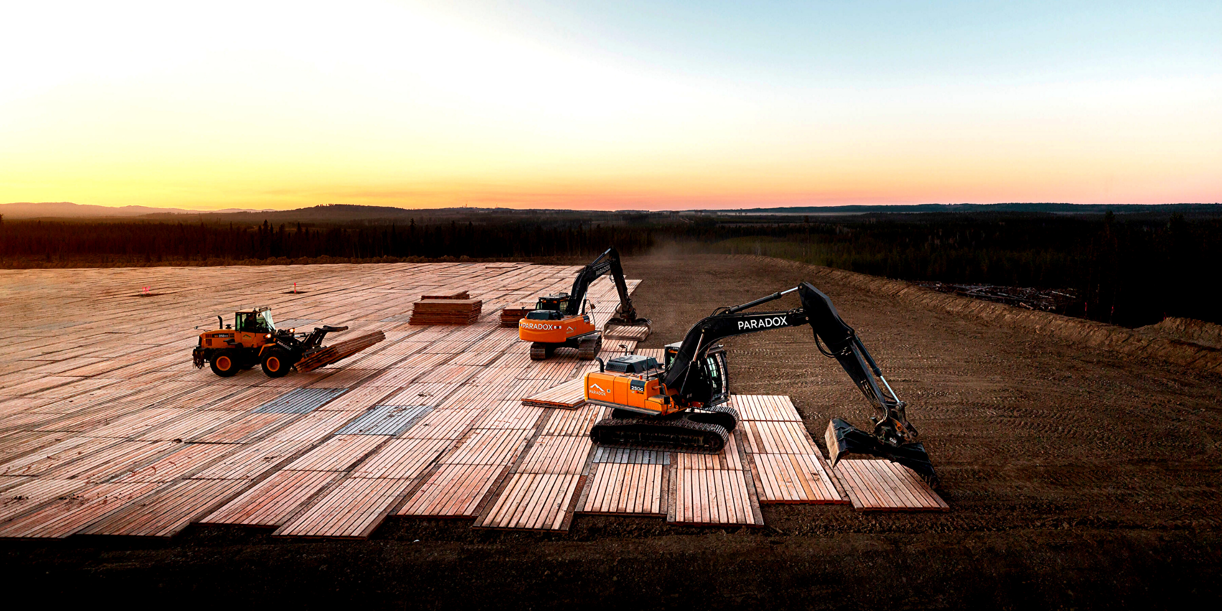 Access mats, including rig mats and swamp mats, are an environmentally-friendly way for companies in the natural resources sector to get their projects on solid ground.